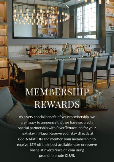 Benessere Wine Club Benefits