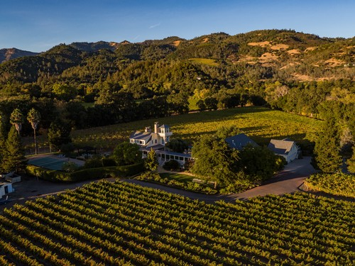 Benessere Winery Property Landscape